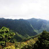 奈良、大峰山系、稲村が岳