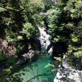 奈良、洞川みたらい渓谷」