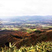 鳥取、中蒜山、頂上近くにて