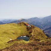 徳島、三嶺、山頂より