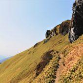徳島、三嶺、山頂下