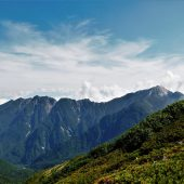 長野、大仙丈ケ岳山頂近く