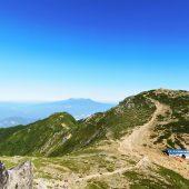 長野、駒ケ岳、中岳から御岳山
