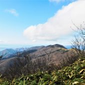 岡山、那岐山より遠望