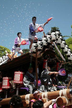 だんじり弓弦波神社