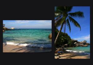 タイ_サムイ島ビーチ
